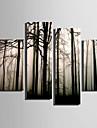 Kanvas Tryck Fyra paneler Duk Vertikal Tryck väggdekor Hem-dekoration