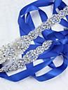Satin/Tul Nuntă Ocazie specială Cercevea With Piatră Semiprețioasă Cristal Imitație de Perle Panglici