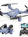 RC Dronă HC629W 4CH 6 Axe 2.4G Cu camera 0.3MP HD Quadcopter RC WIFI FPV Înălțime de susținere O Tastă Pentru întoarcere Auto-Decolare