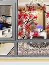 Konst Dekor Fönsterklistermärke,PVC/Vinyl Material fönster~~POS=TRUNC
