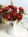 1 Gren Polyester Pioner Bordsblomma Konstgjorda blommor