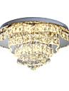 LED Kristall Glödlampa inkluderad Takmonterad Fluorescerande Till Sovrum Matsalsrum Korridor Dimbar med fjärrkontroll 110-120V 220-240V