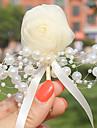 """Flori de Nuntă Butoniere Nuntă Tul Margele 1.97""""(Approx.5cm) 2.36""""(Approx.6cm)"""