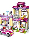 ENLIGHTEN Blocos de Construir Blocos Militares Brinquedos de Montar 734 pcs Casa Superstar Centro de treinamento compativel Legoing Novo Design Faca Voce Mesmo Classico Chique & Moderno Para Meninos
