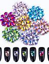 70 Glitter Tillbehör Kristall Trimnings Konst Dekor / Retro Nail Smycken Gör-det-själv-produkter Bröllop 3D Glitters kristall Lyx