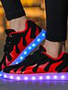 Κοριτσίστικα Παπούτσια Δίχτυ / Ύφασμα Φθινόπωρο Ανατομικό / Φωτιζόμενα παπούτσια Αθλητικά Παπούτσια Ταινία Δεσίματος / LED για Ροζ και Άσπρο / Μαύρο / Άσπρο / Μαύρο / Κόκκινο