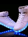 Bărbați Pantofi Piele PVC Imitație de Piele Toamnă Iarnă Confortabili Pantofi Usori Adidași de Atletism Plimbare Dantelă Bandă Magică LED
