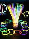LED belysning leksaker plast 100 bitar karneval halloween maskerad gåva