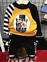 Băieți Seturi Dungi Bumbac Toamnă Manșon Lung Set Îmbrăcăminte