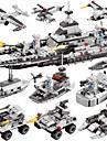 BEIQI Lego 472 pcs 6 în 1 Reparații Barcă Navă Militară Aeronavă Pentru copii Băieți Cadou