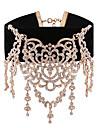 Pentru femei Coliere Choker Ștras Bijuterii Aliaj Vintage Dulce Elegant Bijuterii Pentru Zilnic Casual