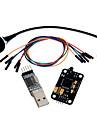 geeetech de recunoaștere vocală Kit modul microfon + USB pentru modul RS232 TTL + punte