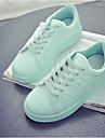 Damă Pantofi Sintetic Primăvară Toamnă Confortabili Adidași Pentru Casual Alb Negru Verde Roz