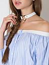 Pentru femei Coliere Choker Heart Shape Piele Aliaj Inimă Sexy Bijuterii Pentru Zilnic Club