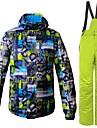 Homme Veste et Pantalons de Ski Coupe Vent Chaud Ventilation Ski Randonnee Multisport Polyester Ensemble de Vetements Tenue de Ski / Hiver