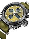 Bărbați Ceas Casual Ceas La Modă Ceas de Mână Japoneză Quartz Calendar Ceas Casual Nailon Bandă Casual Elegant Verde