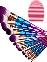12pcs Μακιγιάζ Βούρτσες Επαγγελματίας Σετ Βούρτσα Συνθετική Τρίχα / Βούρτσα με τεχνητές ίνες Φιλικό προς το περιβάλλον / Επαγγελματικό / Πλήρης Κάλυψη Πλαστικό