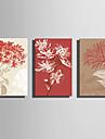Imprimeu pânză întins Peisaj Modern,Trei Panouri Canava Orizontal Imprimeu Decor de perete For Pagina de decorare