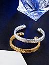 Pentru femei Brățări Bangle / Brățări Bantă - 18K Placat cu Aur, Oțel titan Vintage, Elegant Brățări Auriu / Argintiu Pentru Nuntă / Logodnă / Zilnic