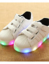 Fete Pantofi PU Primăvară Toamnă Confortabili Adidași Pentru Casual Alb Negru Roz