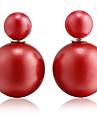 Pentru femei Cercei Stud Design Basic costum de bijuterii La modă Perle Reșină Minge Bijuterii Pentru Nuntă Petrecere Zilnic Casual Sport