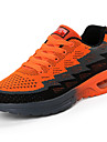 Herr Skor Gummi Vår Höst Komfort Sportskor Basket Korta stövlar/ankelstövlar Rosett för Utomhus Orange Mörkblå Marinblå