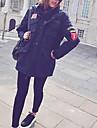 Pentru femei Ieșire Sofisticat Căptușit - Bloc Culoare