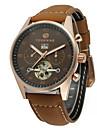 FORSINING Bărbați Ceas de Mână Ceas La Modă Ceas Casual Mecanism automat Calendar Piele Autentică Bandă Casual Cool