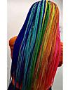 Box Flätor Afro Afrikanska flätor Ny ankomst Syntetiskt hår 1pc / förpackning Pre-loop Virka Flätor Hårflätor Lång