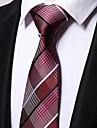 Bărbați Dungi Birou Casual, Poliester - Cravată