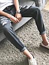 Bărbați Blugi Simplu Talie Medie,Micro-elastic Blugi Pantaloni Mată