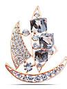 Pentru femei Broșe Cristal Ștras Clasic Modă Cristal Diamante Artificiale Aliaj Navă Auriu Argintiu Bijuterii Pentru Zilnic Oficial