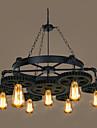 7-Light Industrial Lumini pandantiv Lumină Spot - Stil Minimalist, 110-120V / 220-240V Becul nu este inclus / 5-10㎡ / E26 / E27