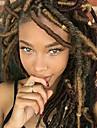 Lockigt Mjuk Afrikanska flätor 100% kanekalon hår Ny ankomst Syntetiskt hår 1pack Faux Locs Hårflätor Mellan