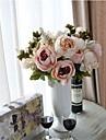 Konstgjorda blommor 1 Gren Moderna Pioner Bordsblomma