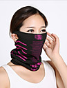 Neck Gaiter Neck Tube Pollution Protection Mask Black / Green Black / Blue Black / Orange Winter Warm Cycling Ski / Snowboard Outdoor Exercise Cycling / Bike Unisex Pattern Polyester