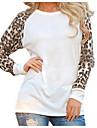 Pentru femei Mărime Plus Size Bluză Șic Stradă-Leopard Peteci