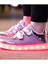 Flickor Skor Tyll Vår Höst Komfort Sneakers för Casual Guld Silver Rosa