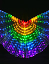 Belly Dance Isis Wings Women\'s Performance Polyester Bulb Included Tube Wings
