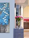 Modern Stil Rustik Mahogany Fyrkantig Inomhus,Batteri