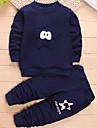 Băieți Set Îmbrăcăminte Peteci Bumbac Sport Primăvară Mânecă Lungă Casual Bleumarin