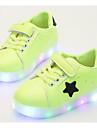 Băieți Pantofi PU Primăvară / Toamnă Confortabili Adidași pentru Negru / Verde / Roz