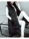 Pentru femei Mărime Plus Size Ieșire Lung Căptușit - Mată Bumbac