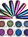 1 pcs Puder / Glitterpulver / Nail Glitter Klassisk Nail Art Design Dagligen