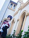 Inspirat de Black Butler Anime Costume Cosplay Costume Cosplay Imprimeu Cravată Șal Costume Mască Ochi Pălărie Pentru Bărbați