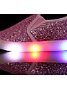 Fete Pantofi Paillertte PU Primăvară Toamnă Confortabili Mocasini & Balerini pentru Casual Auriu Argintiu Roz