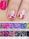 Nail Glitter Sequins Fashionable Jewelry Sweet Style Classic Elegant & Luxurious High Quality Daily Nail Art Design