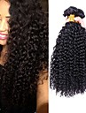 Cheveux Bresiliens Kinky Curly Tissages de cheveux humains 4 par Paquet Tissages de cheveux humains