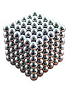 216pcs 3mm argent diy balle magnetique sphere sphere magique cube aimant puzzle construction bloc education jouet