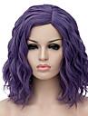 Парики из искусственных волос Фиолетовый Искусственные волосы Жен. Парик